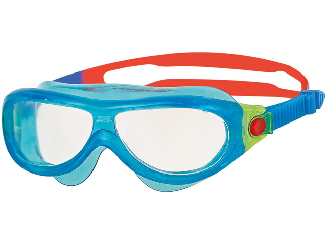Zoggs Phantom Mask Kids Blue/Red/Clear